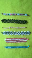 браслеты для девочек  ручной работы