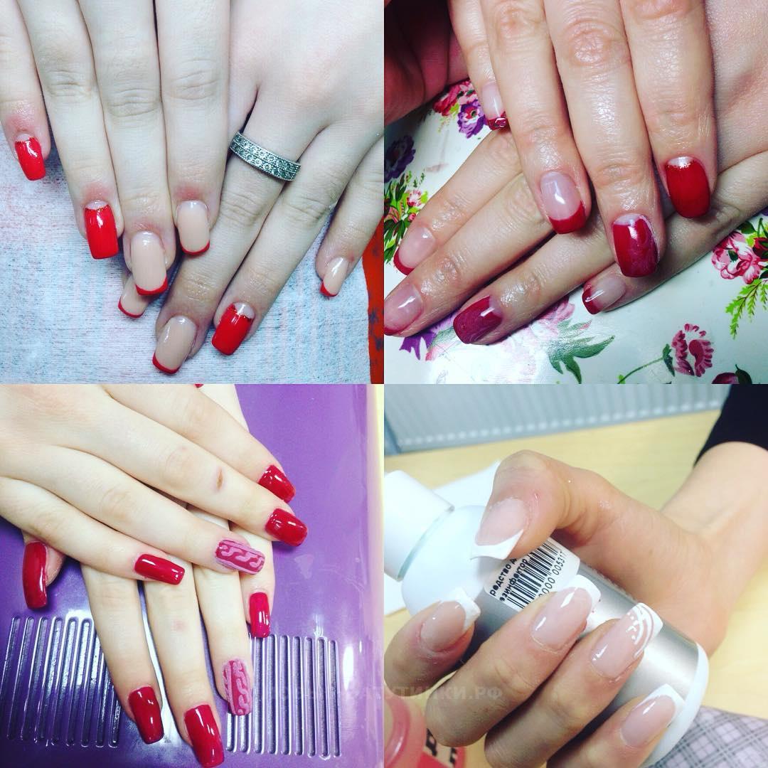 Геометрический дизайн ногтей фото 2018 модные идеи 95