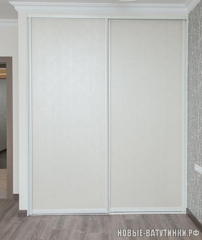 Встроенный шкаф-купе, наполнение дверей пленка ПВХ Лофт бежевый.png