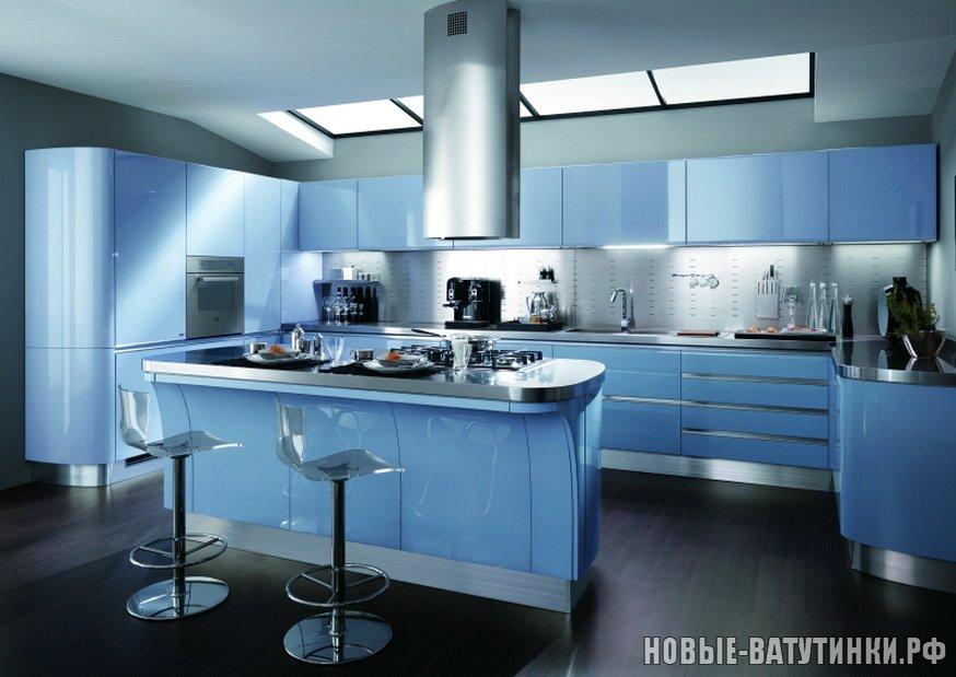 Кухня в стиле Техно в синих тонах.png