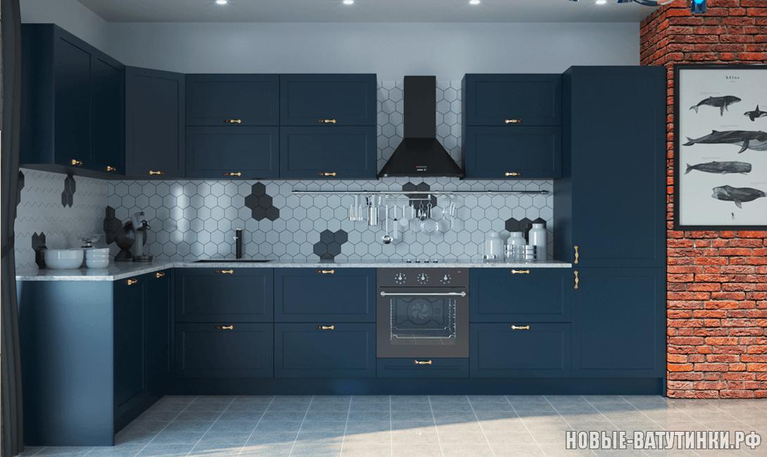 Кухня в стиле Нео-Классика в синих тонах.png