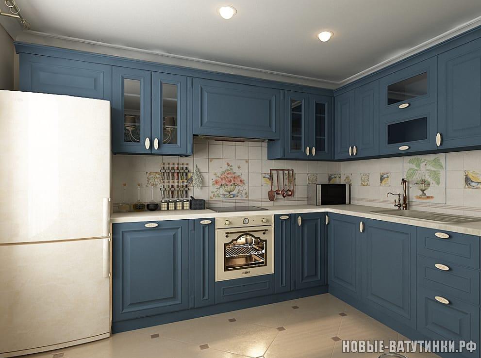 Кухня в стиле Классика-Элит в синих тонах.png